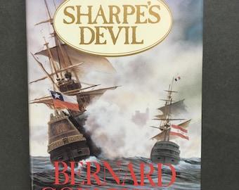 Vintage Richard Sharpe Adventure: Sharpe's Devil by Bernard Cornwell, 1992 1st/1st