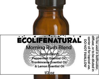 SALE Morning Rush Essential Oil blend