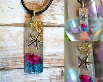 Starfish in the Ocean Necklace