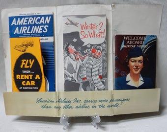 American Airlines Brochures, 1951