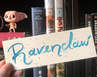 Ravenclaw Watercolor Bookmark