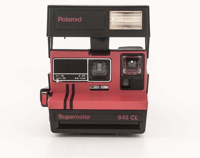 Featured listing image: Polaroid Supercolor 645CL Instant Film Camera - Polaroid Tested and in Working Condition - Polaroid Originals 600 Style Instant Film RARE