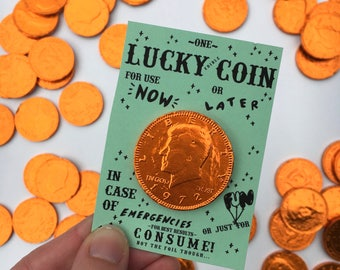 Lucky (Edible) Coin