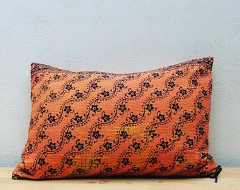 Vintage Kantha Cushion Cover