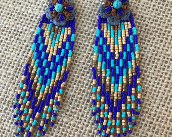 handcrafted one of a kind earrings