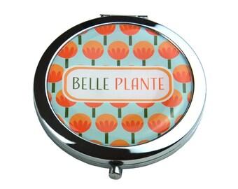 Miroir de poche - Belle plante