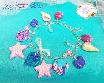 Little Mermaid bracelet model 1
