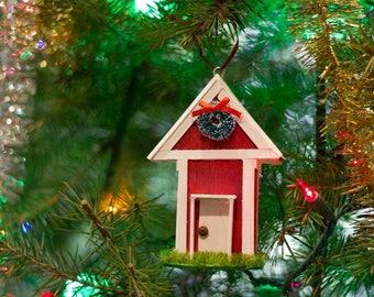 Puerto Rico ornaments.  Christmas ornaments. Christmas gift. Casitas de Navidad.  Ornamentos.  Regalos de Navidad.  Artesania.
