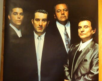 Goodfellas      British Subway Movie Poster (38 x 53)  - 1990 - Robert De Niro, Joe Pesci, and Ray Liotta - VERY RARE!