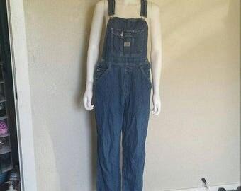 25% off SALE denim jean overalls - medium