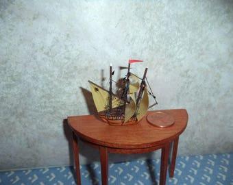 1:12 scale Dollhouse miniature ship