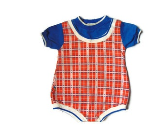 Baby Clothes, Vintage Baby Clothes, Baby Body Suit, Gender Neutral Baby Gift, Retro Baby Clothes, Baby Body Suit, 70s Baby Clothes, 70s