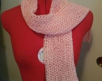 Light orange scarf