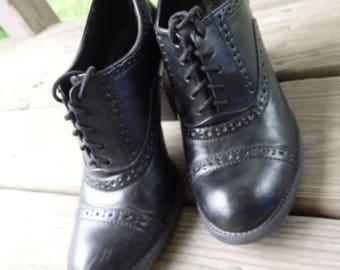 Granny Shoes, Vintage shoes, Blues Concert attire, Jazz Age Pumps, Gatsby Heels, Jazz Era Costume, Sz 8