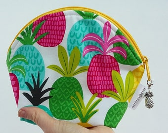 NEW Pineapple Cosmetic Bag