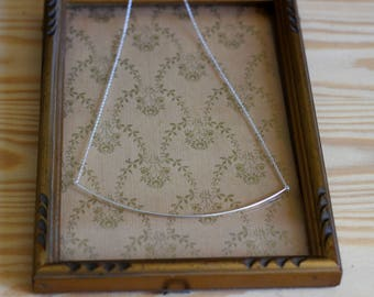 WIR necklace simple 925 sterling silver