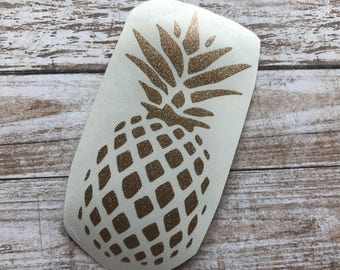 Pineapple Vinyl Decal Car Laptop Wine Glass Sticker