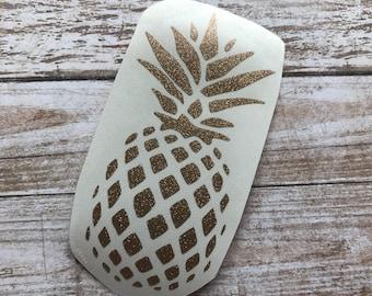 Pineapple Vinyl Decal Car Laptop Wine Glass Sticker