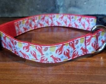 Crawfish Boil Dog Collar
