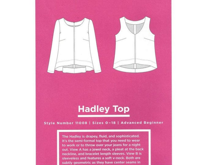Hadley Top - Grainline Studio