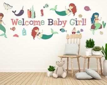 Mermaid Baby Shower, Girl Birthday Party Decorations, Girls Baby Shower, Girls Party Decor, Baby Girl Shower