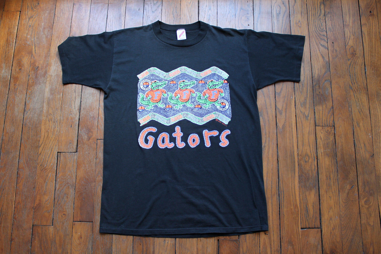 FLORIDA GATORS t shirt university USA 90 s vintage t shirt football