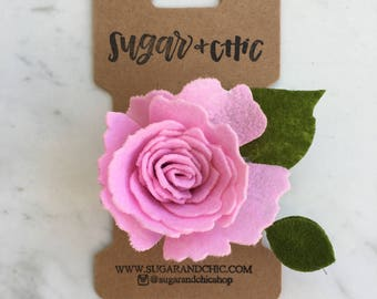 Flower Hair Clip  / Hair Accessory / Girls Hair Accessory / Flowers for Hair / Flower Girl / Flower Hair / Flower Crown / Hair Bow