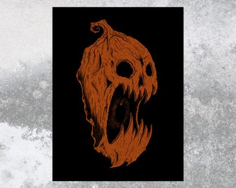 Haunted Harvest 2 18x24 Screen Print