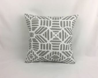 Floor Cushions - Gray Pillow Cover - Grey Pillow Cover 26x26