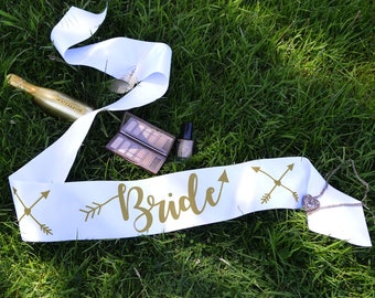 Bride Sash - Bride Tribe Hen Party Range - Other Matching Sashes Available