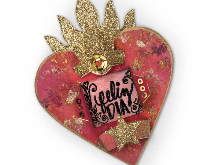 New! Sizzix Bigz Die - Heart Shrine by Crafty Chica 662323