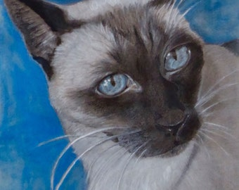 Custom animal portraits - size A4