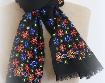 Dot work scarf No. 02