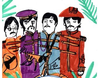 Sgt Pepper Print