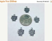Moving Clearance Sale Jesus Loves You Charms
