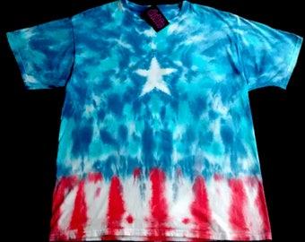 Star Spangled Peace USA Tie Dye