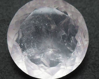Beautiful faceted rose quartz (E2808)