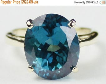 On Sale, 30% Off, Paraiba Topaz, 10Ky Gold Ring, R055