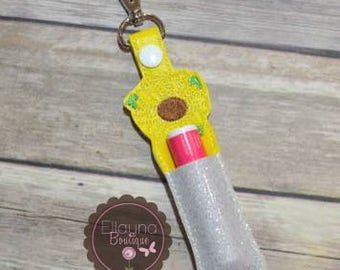 Lip Balm, Chapstick, Flash Drive, USB Drive Holder - Sunflower