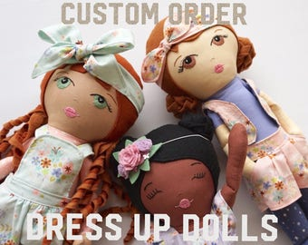 Custom Dress Up Doll