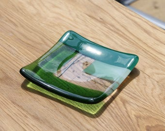 Funky Soapdish or a Pretty Pin Dish