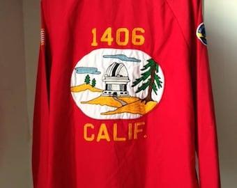"""Vintage Angeltown """"VOITURE 1406 CALIF"""" work jacket size XL"""