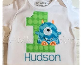 Monster Birthday Shirt or Onesie