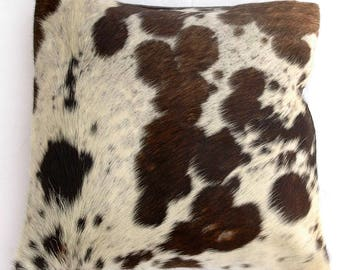 Natural Cowhide Luxurious Hair On Cushion/ Pillow Cover (15''x 15'') A80