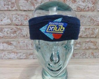 Headband Retro 1980's Approx.48cm x 5.5cm Ski Winter