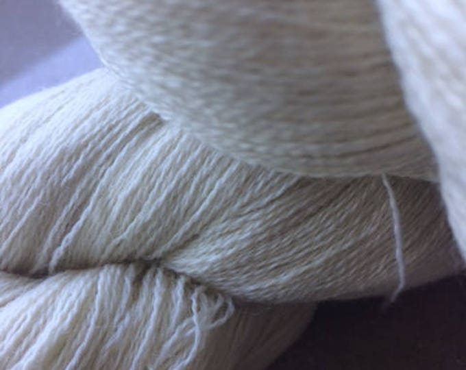 NEW***28/2 Pure Wool - Natural undyed