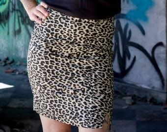 pencil skirt popline cotton stretch