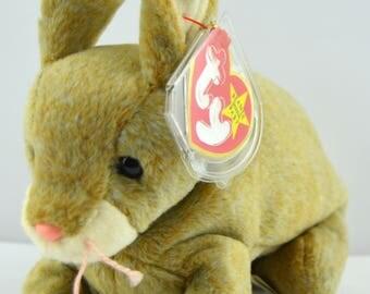 Ty Nibbly the Bunny Rabbit Beanie Baby - Retired