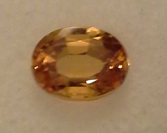 2.40ct clean Yellow Sappphire
