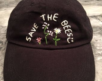 SAVE THE BEES cap (black)